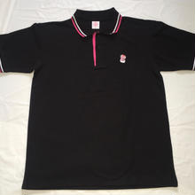 G13ORIGINAL POLO SHIRT BLACK/PINK