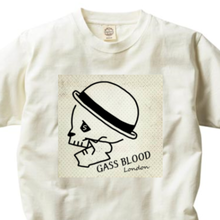 GASS BLOOD S.LABEL-Tee-B-2色