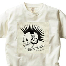 GASS BLOOD S.LABEL-Tee-A-2色