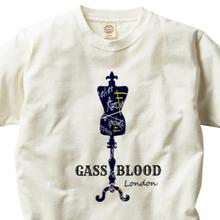 GASS BLOOD London-Tee-B-2色