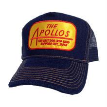 THE APOLLOS / デニムメッシュキャップ(ネイビー・ゴールド)