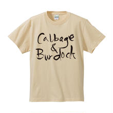 CABBAGE & BURDOCK  / C&B Tee(ナチュラル)