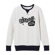 Oh!Sharels  /  ヴィンテージ・スウェット(ホワイト×ブラック)