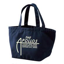 THE APOLLOS / A-LOGO トートバッグ・ミニ (ネイビー)