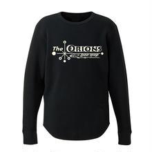 The ORIONS / ワッフル O-LOGO Tee 長袖 B(ブラック)