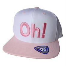 Oh!Sharels / TOW(スナップバック)ピンク/ホワイト