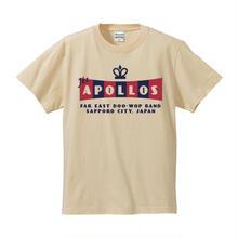 THE APOLLOS / CROWN Tee(ナチュラル)