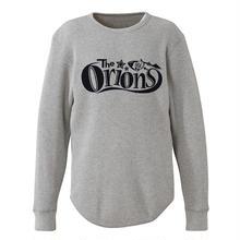 The ORIONS / ワッフル O-LOGO Tee 長袖 A(ヘザーグレー)