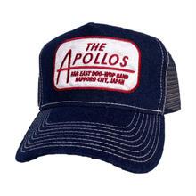 THE APOLLOS / デニムメッシュキャップ(ネイビー・ホワイト)