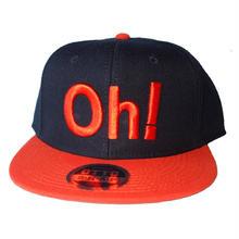 Oh!Sharels  / OTTO(スナップバック)オレンジ/ブラック
