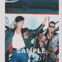 ブラックキャッツ / マルベル堂プロマイドB6大判台紙付 MB-05(中)