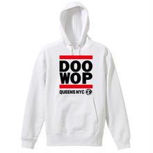 Queens NYC Doo-Wop パーカー(ホワイト)