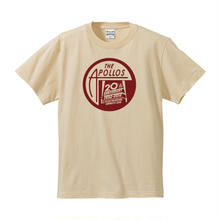 THE APOLLOS / 20th Anniversary Tee(ナチュラル)