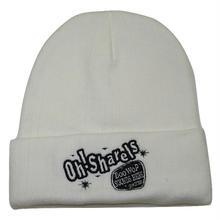 Oh!Sharels / OTTO LOGO Knit Beanie(ホワイト)