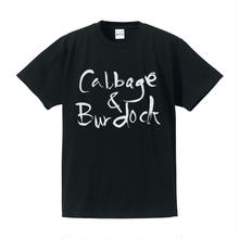 CABBAGE & BURDOCK  / C&B Tee(ブラック)