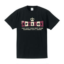 THE APOLLOS / CROWN Tee(ブラック)