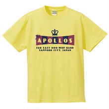 THE APOLLOS / CROWN Tee(ライトイエロー)