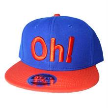 Oh!Sharels / OTTO(スナップバック)ロイヤルブルー×オレンジ