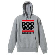 Queens NYC Doo-Wop パーカー(グレー)