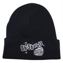 Oh!Sharels / OTTO LOGO Knit Beanie(ブラック)
