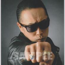 BLUE MOON BOYS(川戸昌和) / マルベル堂プロマイドB6大判台紙付BMB-12(中)