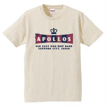 THE APOLLOS / CROWN Tee(ヘザーベージュ)