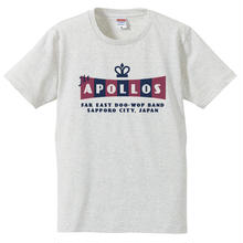 THE APOLLOS / CROWN Tee(オートミール)