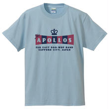 THE APOLLOS / CROWN Tee(ライトブルー)