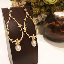【Garden pearl】ピアス&イヤリング