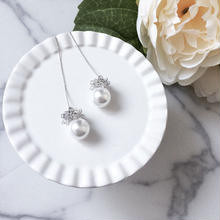 【Wreath and pearl】2wayピアス