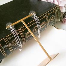 【Pearl & Bijou chandelier】ピアス