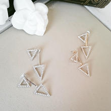 【Shining triangle】2wayピアス