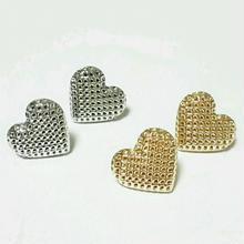 『mesh heart』ピアス&イヤリング