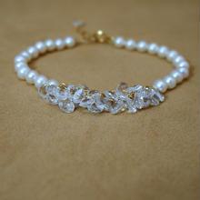 WhiteTopaz Prisum Bracelet