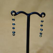 LondonBlueTopaz LooseFoop Earrings(b/c)