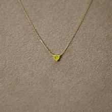 YellowDiamond Petit Necklace(t/g)