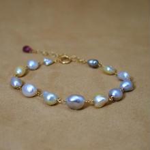 SouthSea Pearl Bracelet(keshi)