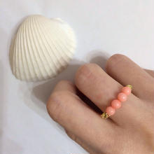 Sango Chain Ring(サンゴチェーンリング)