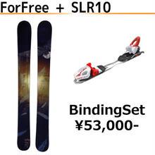 ビンディングセット (ForFree or SnowFairy + SLR10)