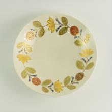 中皿 花つなぎ/Craft Studio Karakusa  飯野夏実