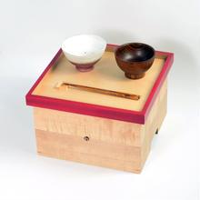 色漆の箱膳 赤/ hacozen
