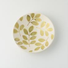 小皿 葉文/Craft Studio Karakusa  飯野夏実