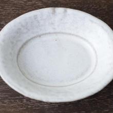 楕円 小皿/河上奈未