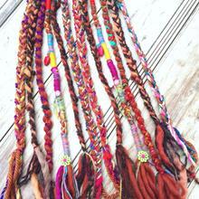 ❁ハッピーヒッピーヘアゴム❁(happy hippie 10)
