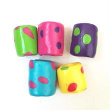 ❁ハッピードレッドビーズ❁(colorful dots)