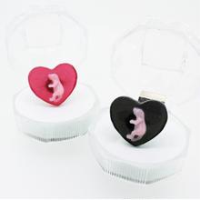 ピンクマウスハートリング (フリーサイズ)