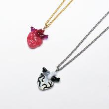 極小心臓 ネックレス(チェーン約40cm)