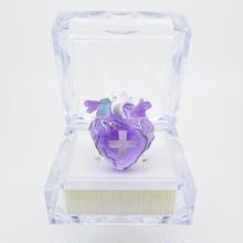 メディカルハート心臓リング  薄紫