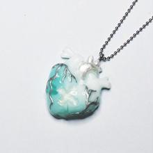 メディカルハート心臓ネックレス 雲(チェーン約60cm)