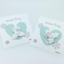 snowfrogピアス/イヤリング(冬季限定)(片耳)